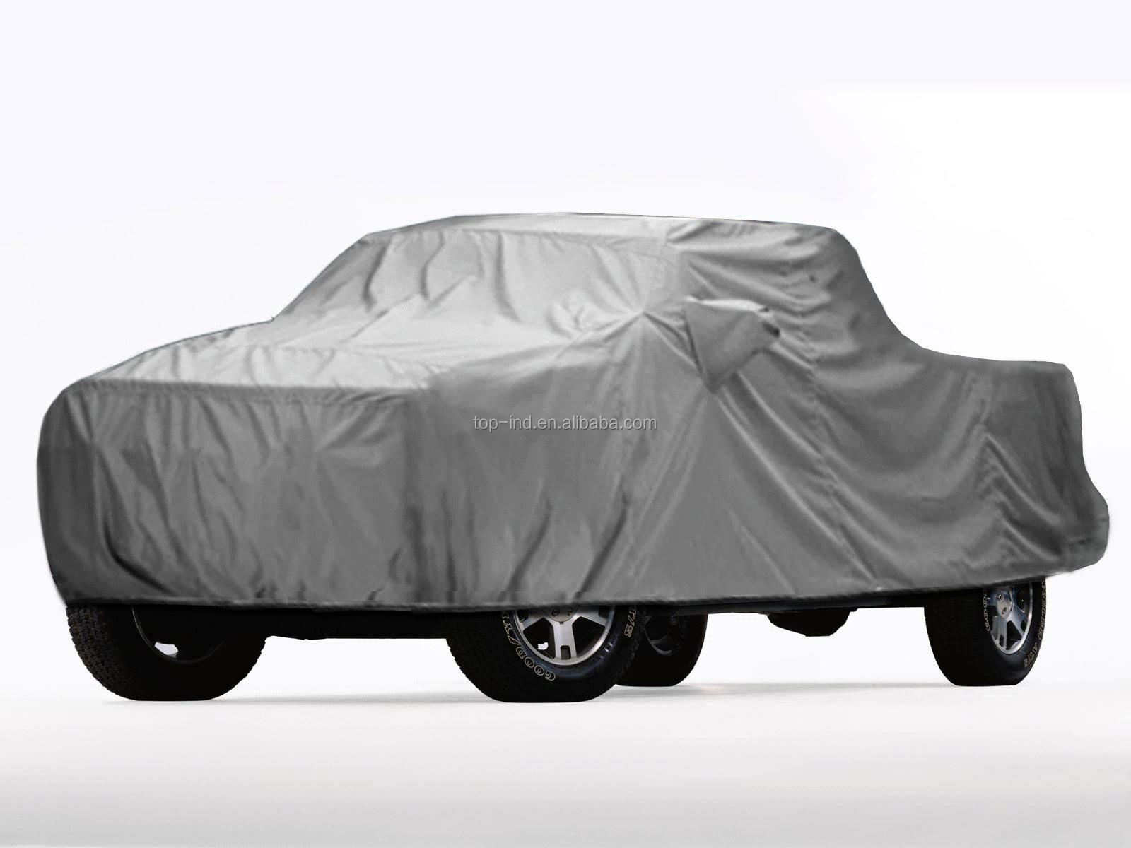 Hail protection and waterproof fabric inflatable car cover