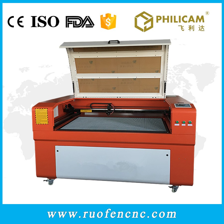 Philicam reci laser tube 130w wood cutting machine price / laser engraver 1290