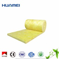 50mm High Density Soundproof Glass Wool Board / Insulation Glass Wool Price