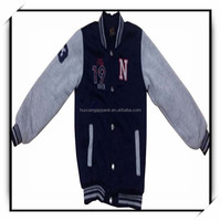 garment factory new design cheap varsity jacket wholesale