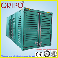 1 mw power plant containerize diesel generator set for industrial power supply