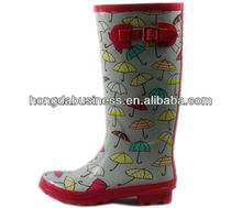 mature rubber boots women