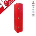 Metal Furniture 3 Doors Employee Closet Locker Changing Room Locker