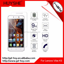 HUYSHE Gold Supplier Factory In Shenzhen Best Screen Film for Lenovo Vibe K5 Tempered Glass Screen Protector