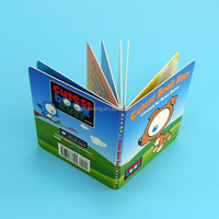 2015 stereo book printing,colorful stereo book,gift pop-up book printing