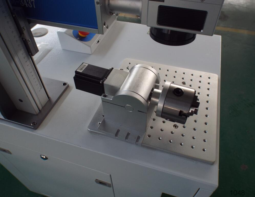 Auto working Flying Laser Metal tube 30w co2 laser marking machine