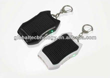 1200mah Solar Charger Keychain Mini Solar Battery Charger with LED light
