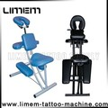 The comfortable Tattoo Chair Tattoo Furniture blue&black