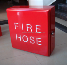 Red color GRP fire hose cabinets