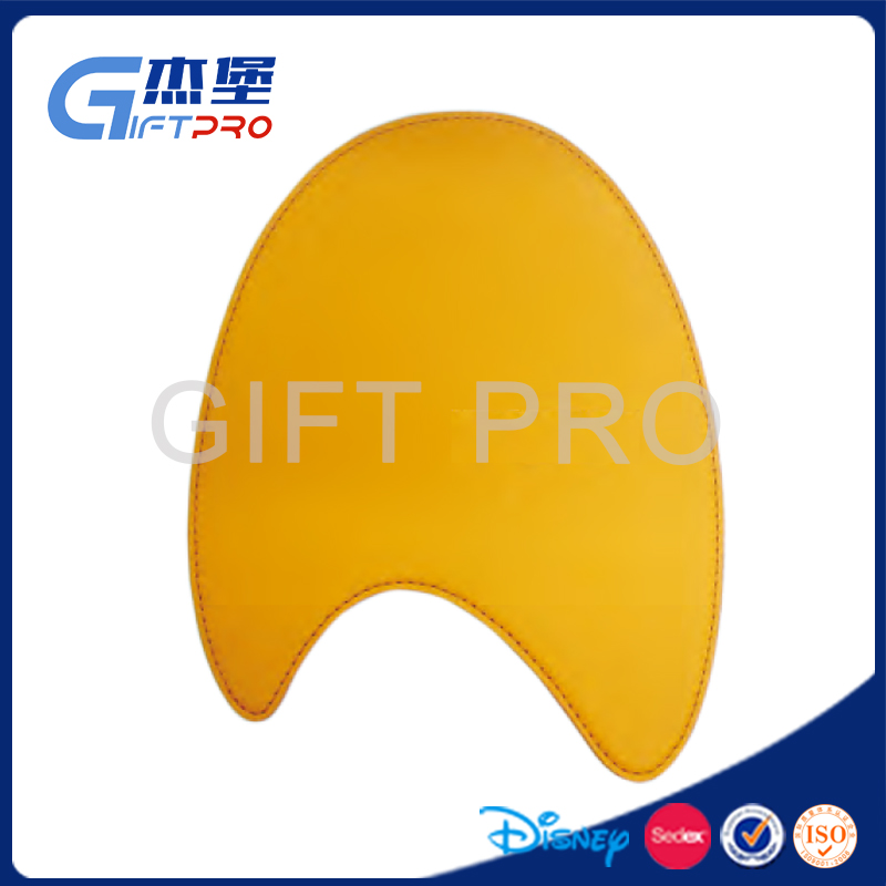custom shape/logo gaming mouse pad leather material