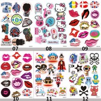free shipping wholesale 200sets PVC car stickers cartoon motorcycle stickers paul frank lip stickers for traveling case