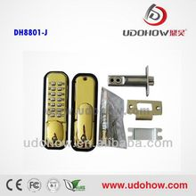 Digital mechanical gate lock without power supply DH-8801