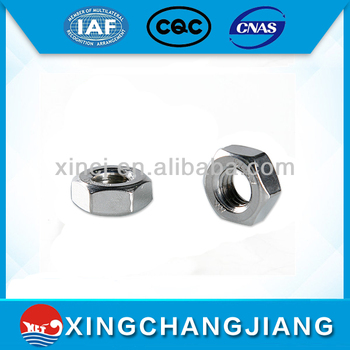 din934 stainless steel nuts