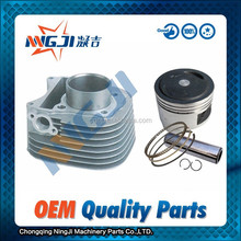 53.5mm diameter Motorcycle Cylinder kit for Qingqi Suzuki UZ125 High Quality Motorcycle Engine Parts Engine Piston set