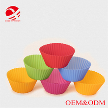 silicone cupcake cases Flexible and eco-friendly