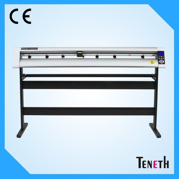 Large format 1550mm cutting width laser cutting plotter with optial eye / TENETH 5 feet high quality cutter plottter