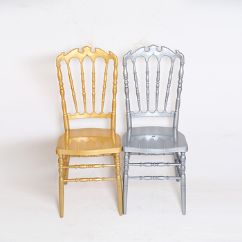 MY-TEXT Modern Appearance and Hotel Furniture Resin Royal Throne Wedding Chair