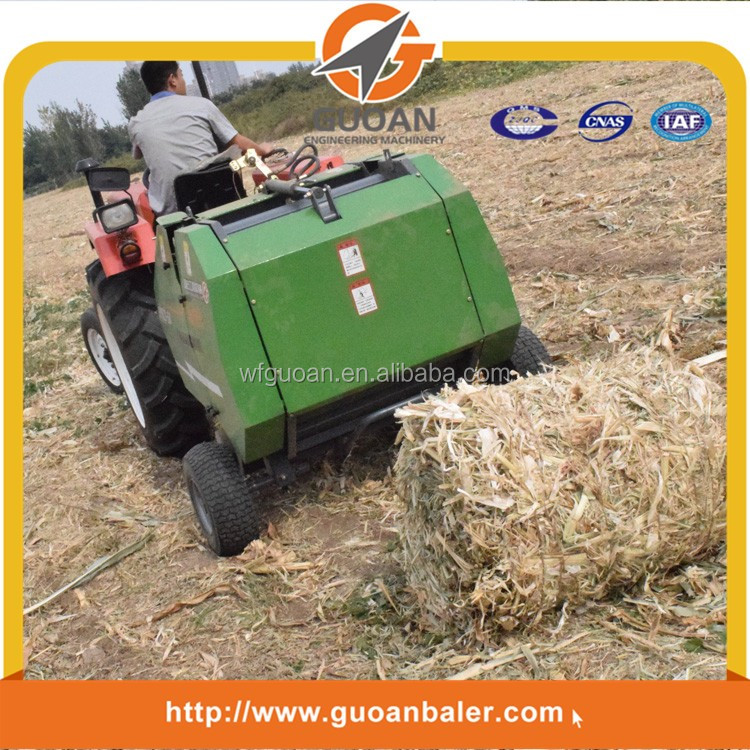 agriculture round hay bander machinery factory price hemp balers