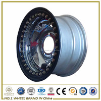 16x7 Chrome steel wheel rim