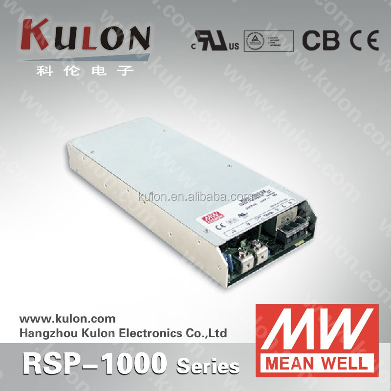 MEAN WELL RSP-1000-12 12v 1000W rail active PFC function buy pc power supply