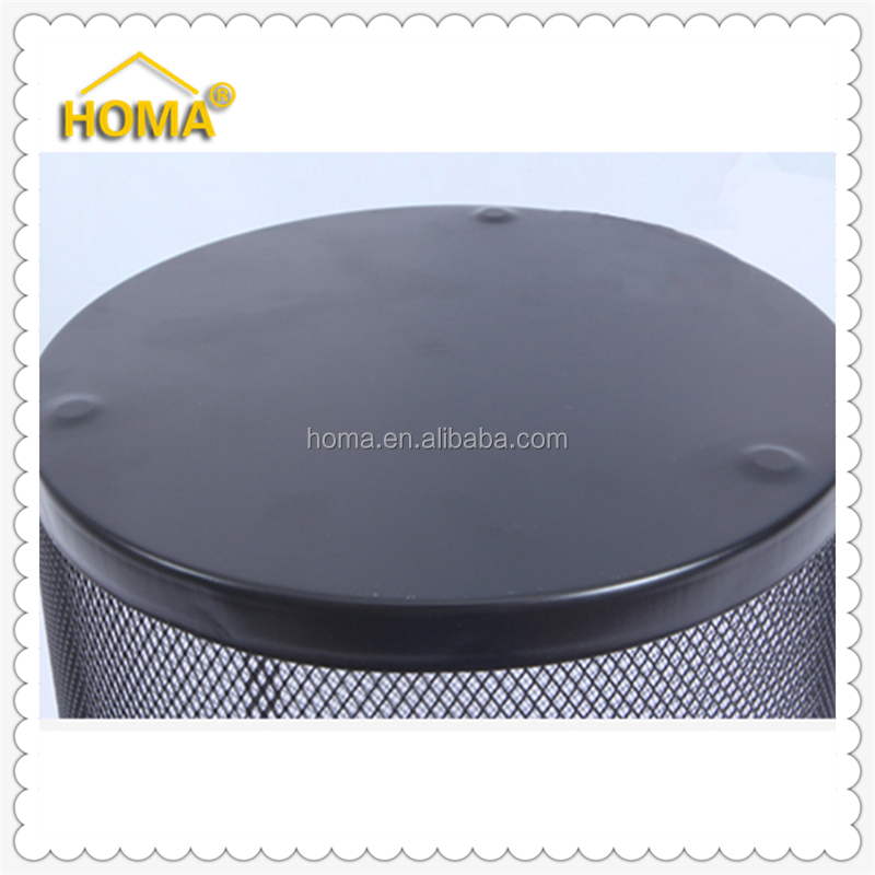 Iron Recycling Stainless Steel Foot Pedal Waste Bin
