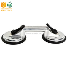 Heavy Duty Aluminum Double Handle Suction Cup Plate Professional Glass Puller / Lifter / Gripper