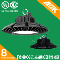 Industrial Aluminum Light 150w UL DLC CE RoHS IP65 UFO New LED High Bay Replacement Bulb
