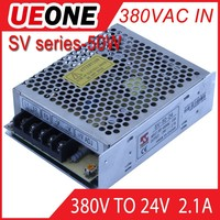 380vac input power supply 50w 24v switching dc24v 2a power supply