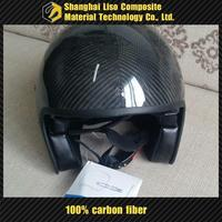 carbon fiber skydiving helmet carbon fiber helmet half shell motorcycle helmet carbon open face