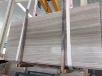 2017 Newest white wood marble for tiles, slabs,block in China