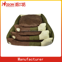Mix & Match Joint faux suede dog bed