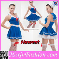 Wholesale Newest Fashion Private School Sexy Girls Costume