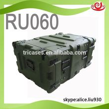 2016 Tricases RU060 waterproof military standard 6U Roto Shock Rack case for computer server 2016 Tricases!