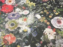 China supplier Printed Silk georgette 6 mm Fabric For Prom Dress