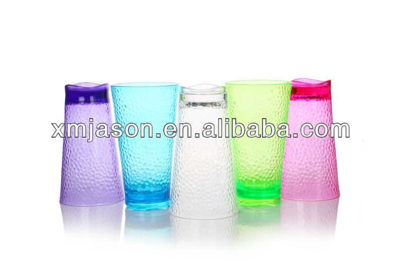 colorful plastic party drinking cup ,made by PS material