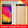 ECON G7 4 inch MTK6515 Android 4.4.2 Double Camera Small Price Mobile Phone