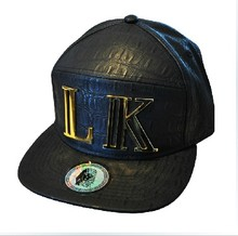 Last King Leaather 6 Panel Strapback Cap