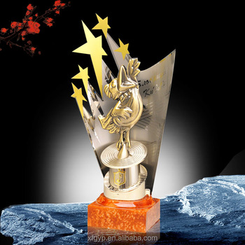 New design metal movie award