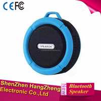 Portable Wireless Bluetooth Speaker With Calls Handsfree and Suction Cup Waterproof Bluetooth Shower Speaker