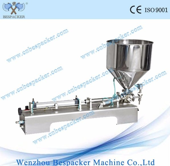 G1WTD Semi-auto pneumatic honey paste can filling machine