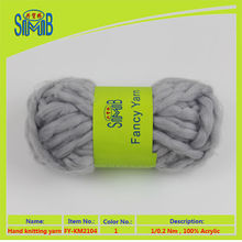 high bulky yarn manufacturer shingmore good selling oeko tex quality 100 acrylic hand knitting super chunky yarn