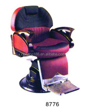 Hot sale comfortable durable salon furniture leather Barber Chairs 8776