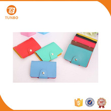 High quality fashion card holder multiple wallet for women