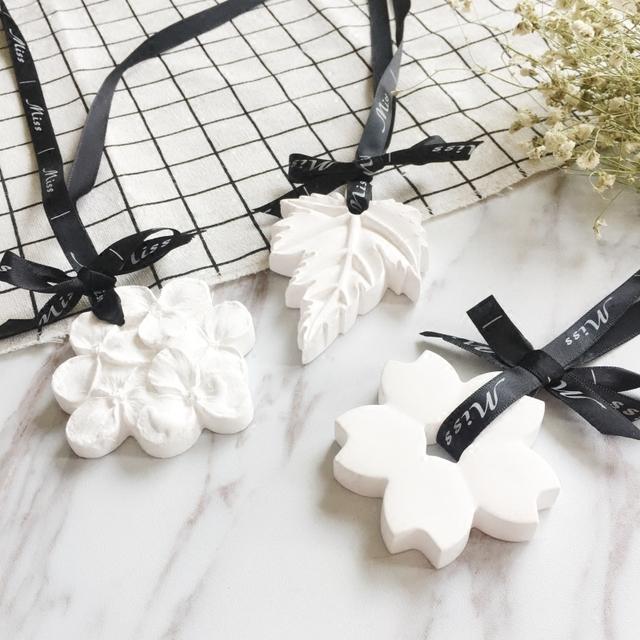 birthday gift hanging ceramic stone fragance scented plaster plaster of paris ceramic