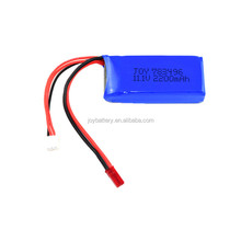JOY 783496 3S 11.1V 2200mAh 20C high rate discharge lithium rc lipo battery for helicopter airplane