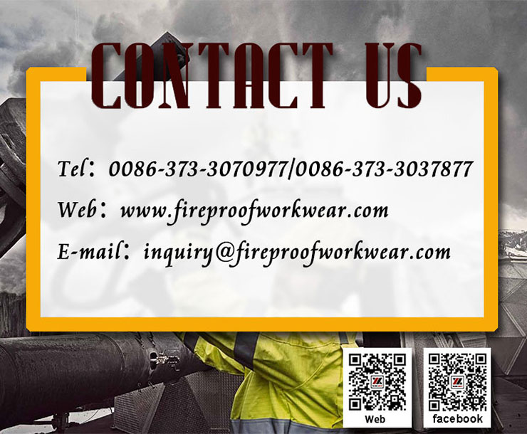 Eco Friendly FR Cotton Fabric For Fire Industry