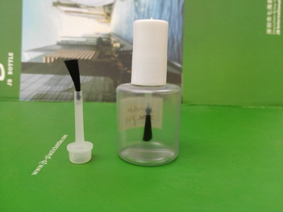 empty hdpe plastic Cyanoacrylate super glue adhesive bottles with brush caps