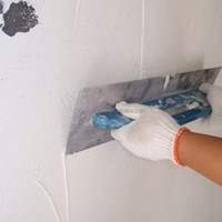Internal skim coat wall putty