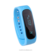 New Stylish Pedometer Smart Bracelet with Bluetooth Connection,Message remind/Clock/Selfie function
