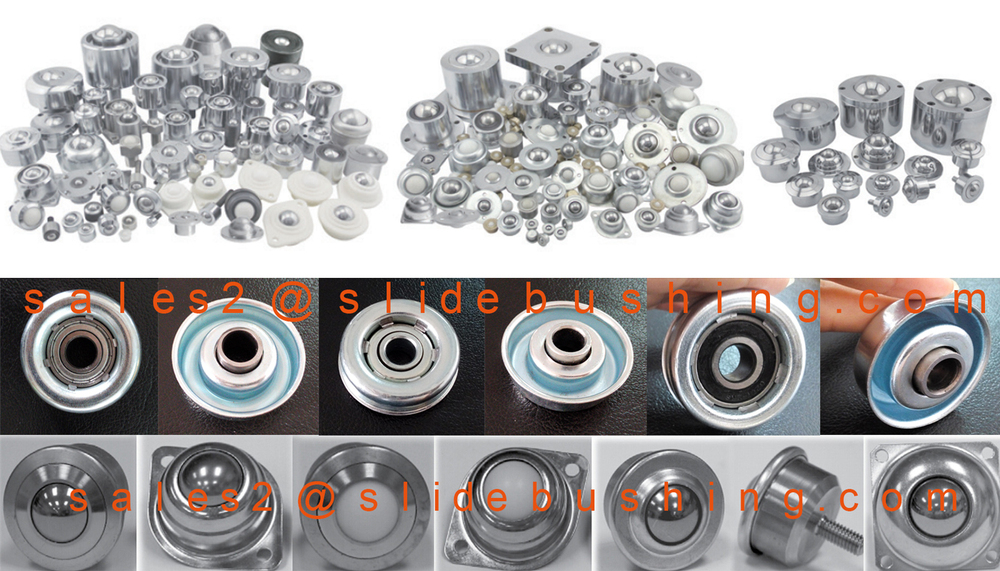 solid plastic balls roller caster wheel nylon ball transfer unit bearing with bolt fixing full plastic ball transfer